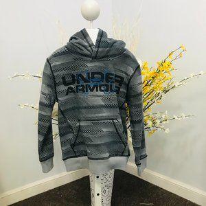 Under Armour boys pullover hoodie sweatshirt sz 7
